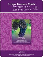 Mijin Cosmetics Grape Essence Mask Тканевая маска с экстрактом винограда.